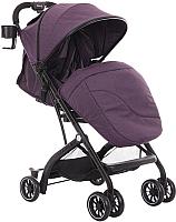 Детская прогулочная коляска INDIGO Glory (фиолетовый) -