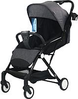 Детская прогулочная коляска INDIGO Mary (черный) -