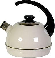 Чайник со свистком Сила Дон T04/25/04/00/01 (слоновая кость) -