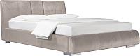 Двуспальная кровать ДеньНочь Барри K04 KR00-09С 160x200 (PR02/PR02) -