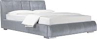 Двуспальная кровать ДеньНочь Барри K03 KR00-09eC 160x200 (PR05/PR05) -