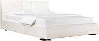 Двуспальная кровать ДеньНочь Барри K04 KR00-09 160x200 (SF17/SF17) -