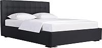 Двуспальная кровать ДеньНочь Бонд K04 KR00-07 180x200 (SF32/SF32) -