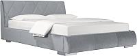 Двуспальная кровать ДеньНочь Дейтон К04 KR00-11C 160x200 (PR05/PR05) -