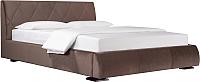 Двуспальная кровать ДеньНочь Дейтон К03 KR00-11e 180x200 (PR04/PR04) -