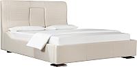 Двуспальная кровать ДеньНочь Довиль K03 KR00-02e 160x200 (SF31/SF31) -