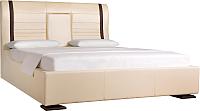Двуспальная кровать ДеньНочь Довиль K04 KR00-02 160x200 (SPU05/SF66) -