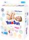 Подгузники детские YokoSun На липучках размер S до 6кг (82шт) -