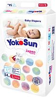 Подгузники детские YokoSun На липучках размер L 9-13кг (54шт) -