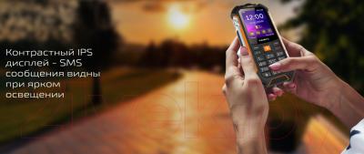 Мобильный телефон Texet TM-530R (черный)