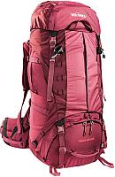 Рюкзак туристический Tatonka Bison 60+10 Women / 6050.047 (бордовый/красный) -