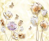 Фотообои Citydecor Цветочный декор 10 (300x254) -