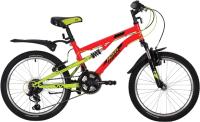 Детский велосипед Novatrack Titanium 20SS12V.TITANIUM.RD20 -