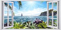 Фотообои Citydecor Вид из окна 2 (300x150) -