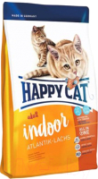 Корм для кошек Happy Cat Supreme Indoor Atlantik-Lachs / 70211 (300г) -