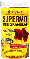 Корм для рыб TROPICAL Supervit Mini Granulat / 60424 (250мл) -