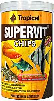 Корм для рыб TROPICAL Supervit Chips / 60814 (250мл) -