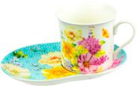 Чашка с блюдцем MASTER Ботаника / MB388 -