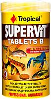 Корм для рыб TROPICAL Supervit Tablets B / 20632 (200шт/50мл) -