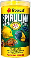 Корм для рыб TROPICAL Super Spirulina Forte / 77234 (250мл) -