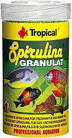 Корм для рыб TROPICAL Spirulina Granulat / 60334 (250мл) -