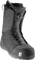 Ботинки для сноуборда Nidecker Aero Black 2019-20 (р.9) -