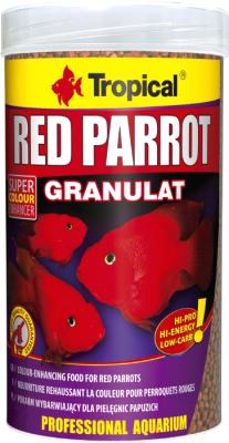 Корм для рыб TROPICAL Red Parrot Granulat / 60714