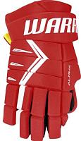 Перчатки хоккейные Warrior Alpha DX5 / DX5G9-RDW13 (красный/белый) -