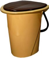 Ведро-туалет Ingreen Smart Solution / ING30001FБЖ (17л, бежевый) -