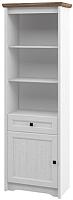 Шкаф Мебель-Неман Тиволи МН-035-07 (белый структурный/дуб стирлинг) -