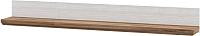 Полка Мебель-Неман Тиволи МН-035-16 (белый структурный/дуб стирлинг) -