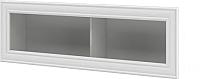 Шкаф навесной Мебель-Неман Юнона МН-132-21 (белый текстурный) -