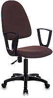 Кресло офисное Бюрократ Престиж+ 15-66 CH-1300N (коричневый) -