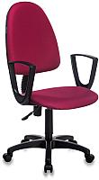 Кресло офисное Бюрократ Престиж+ 15-11 CH-1300N (бордовый) -