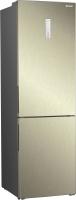 Холодильник с морозильником Sharp SJB340XSCH -