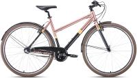 Велосипед Forward Corsica 28 2020 / RBKW0Y683003 (500мм, черный/коричневый) -