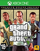 Игра для игровой консоли Microsoft Xbox One Grand Theft Auto V. Premium Edition -