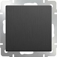 Выключатель Werkel WL04-SW-1G / a046612 (графит рифленый) -