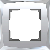 Рамка для выключателя Werkel Diamant WL08-Frame-01 / a045795 (зеркальный) -