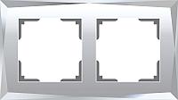 Рамка для выключателя Werkel Diamant WL08-Frame-02 / a045796 (зеркальный) -