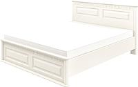 Двуспальная кровать Мебель-Неман Марсель МН-126-01-180(1) (кремовый) -