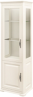 Шкаф с витриной Мебель-Неман Марсель МН-126-11(1) (кремовый) -