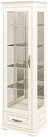 Шкаф с витриной Мебель-Неман Марсель МН-126-12(1) (кремовый) -