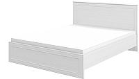 Двуспальная кровать Мебель-Неман Юнона МН-132-01 (белый текстурный) -