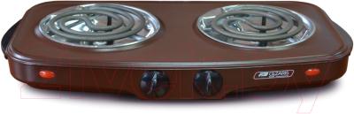 Электрическая настольная плита Cezaris ПЭ Нс 2001-07 плита электрическая gefest пэ 720 белый эмаль настольная