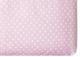 Простыня детская Martoo Comfy-3 / СM3-1-PN (розовый горох) -