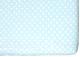 Простыня детская Martoo Comfy-3 / СM3-1-BL (голубой горох) -