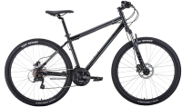 Велосипед Forward Sporting 27.5 3.0 Disc 2020 / RBKW0MN7Q002 (17, черный) -