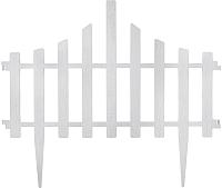 Изгородь декоративная Алеана Заборчик 114042 (белый флок) -
