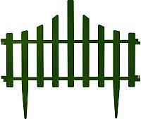 Изгородь декоративная Алеана Заборчик 114042 (зеленый) -